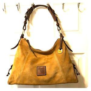 DOONEY & BOURKE suede handbag